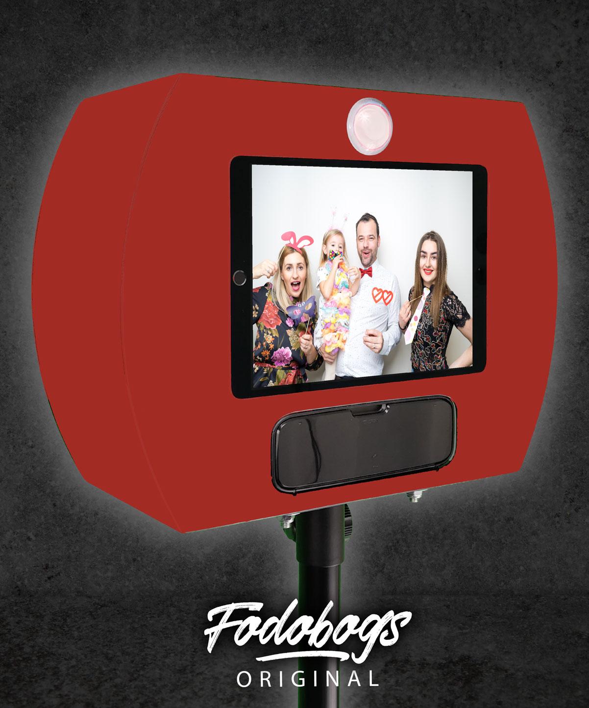 Fotobox Rot