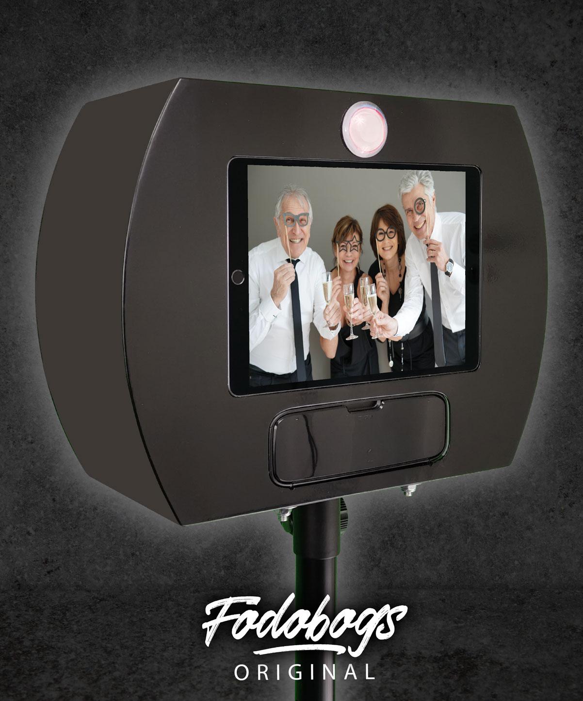 Fotobox Schwarz