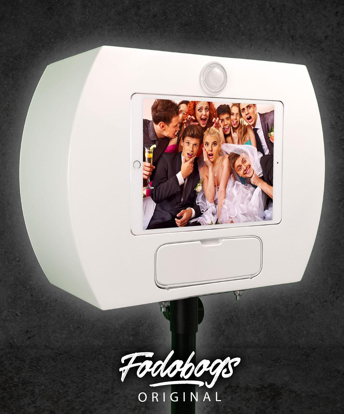 Fotobox Weiß