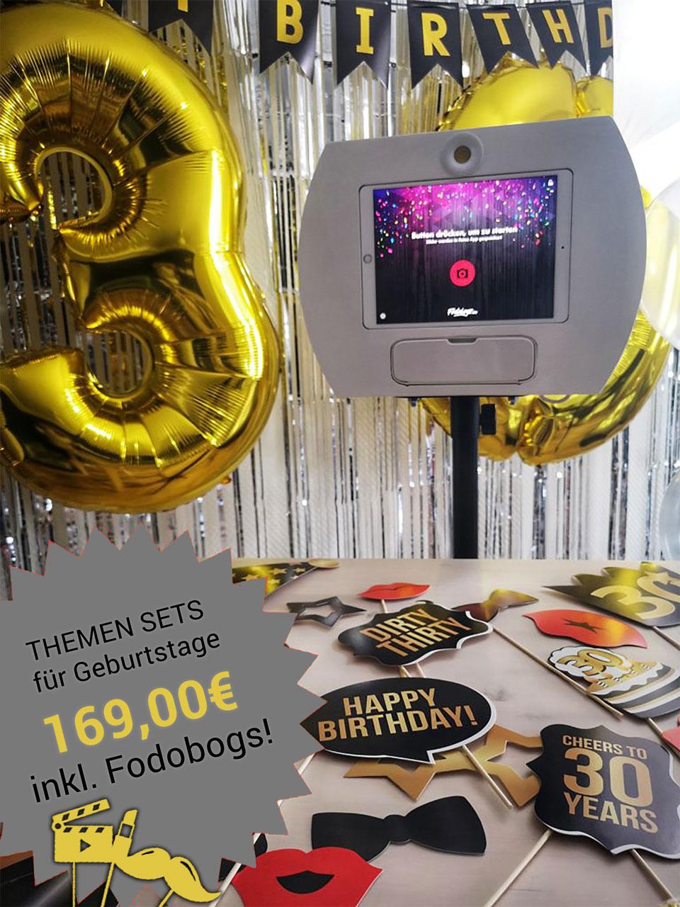Fotobox Geburtstag